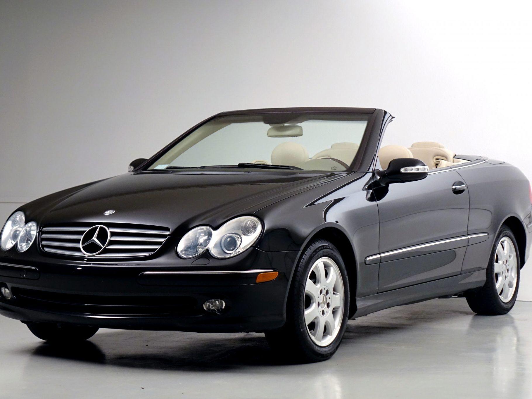 2005 Mercedes-Benz CLK320 Convertible