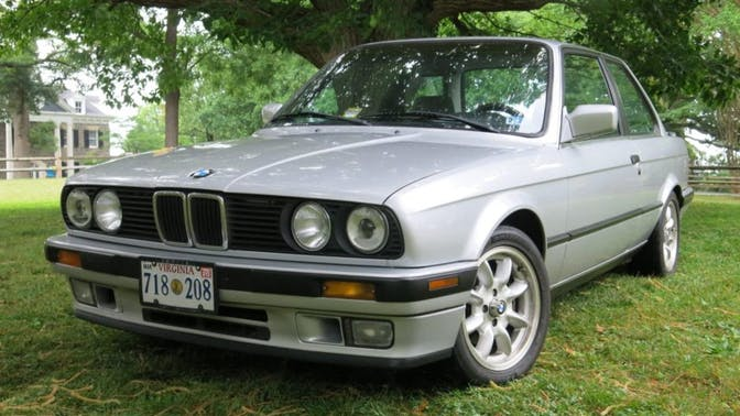 1991 BMW 325i 5-Speed