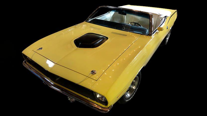 1970 Plymouth Barracuda Convertible