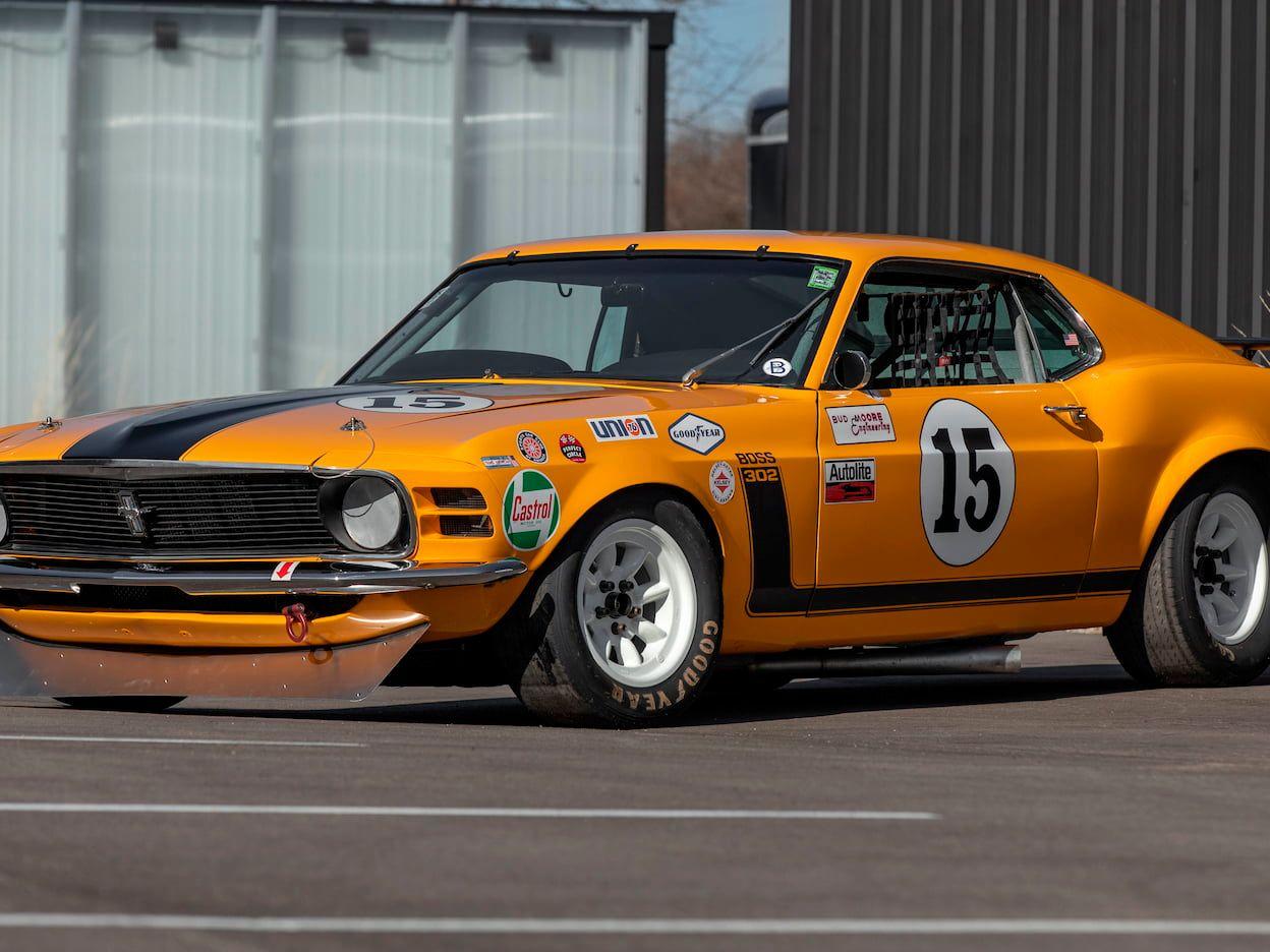 1970 Ford Mustang Boss 302 Trans Am Race Car