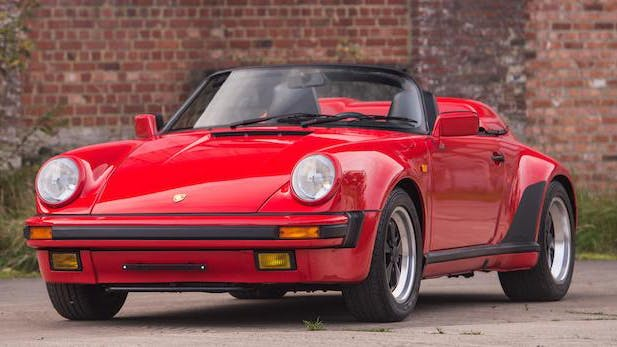 Porsche 911 Carrera 3.2 Litres « Turbo Look » Speedster 1989