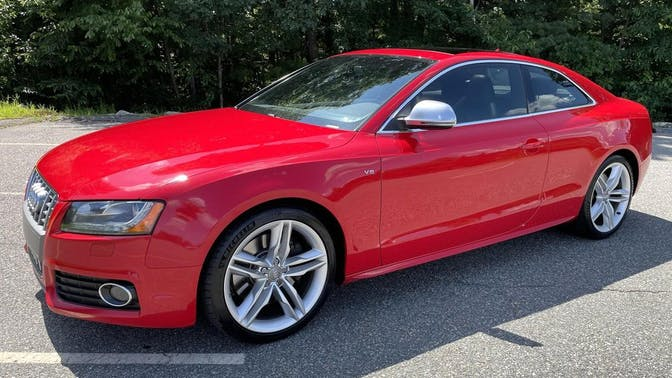 2008 Audi S5 Coupe