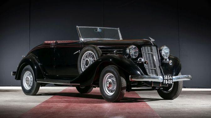 1935 Auburn 653 Cabriolet Avec Spider