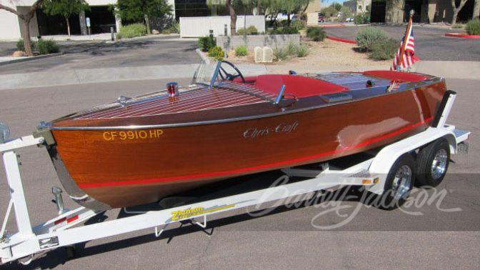 1934 Chriscraft 52 16 Foot Boat