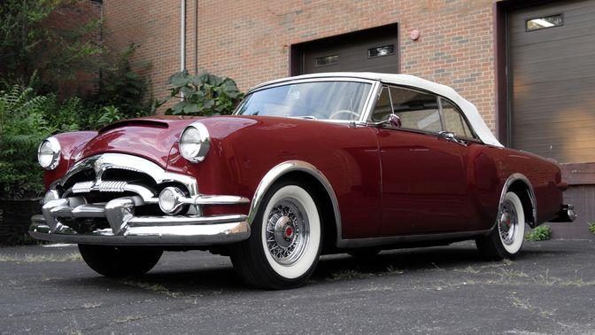 1953 Packard Caribbean Custom Convertible