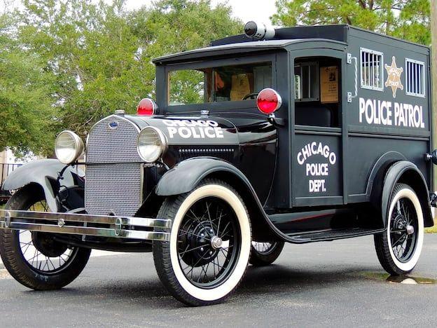 1929 Ford Model A Paddy Wagon