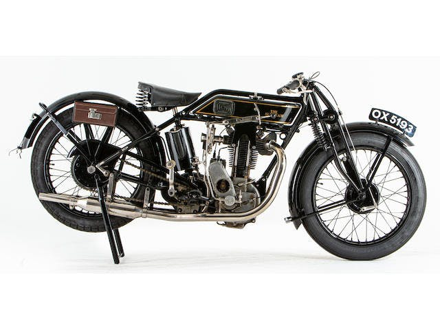 1928 Sunbeam 493CC t.t. Model 90 Racing Motorcycle