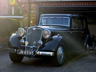 1935 Crossley Regis Six Saloon