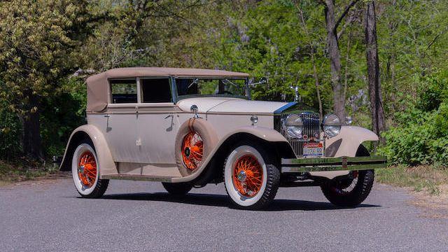 1926 rolls royce phantom 1 newmarket convertible vin s407fl classic com 1926 rolls royce phantom 1 newmarket
