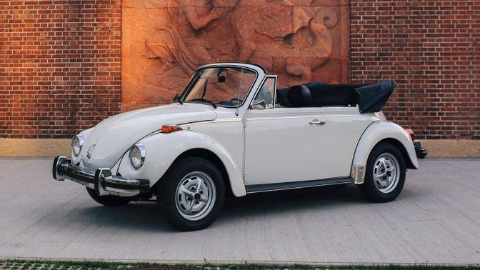 1977 Volkswagen Beetle 1303 Cabriolet