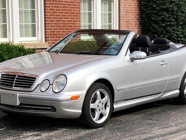 2002 Mercedes-Benz CLK430 Convertible