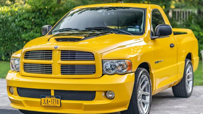 2005 Dodge Ram SRT-10 Yellow Fever Edition 6-Speed
