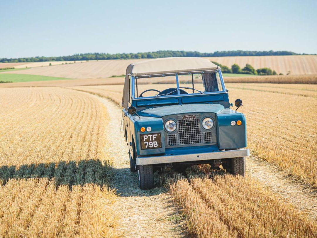 "1964 Land Rover Series IIA 88"" With Canvas Tilt"