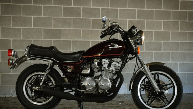 1980 Honda CB750C Custom