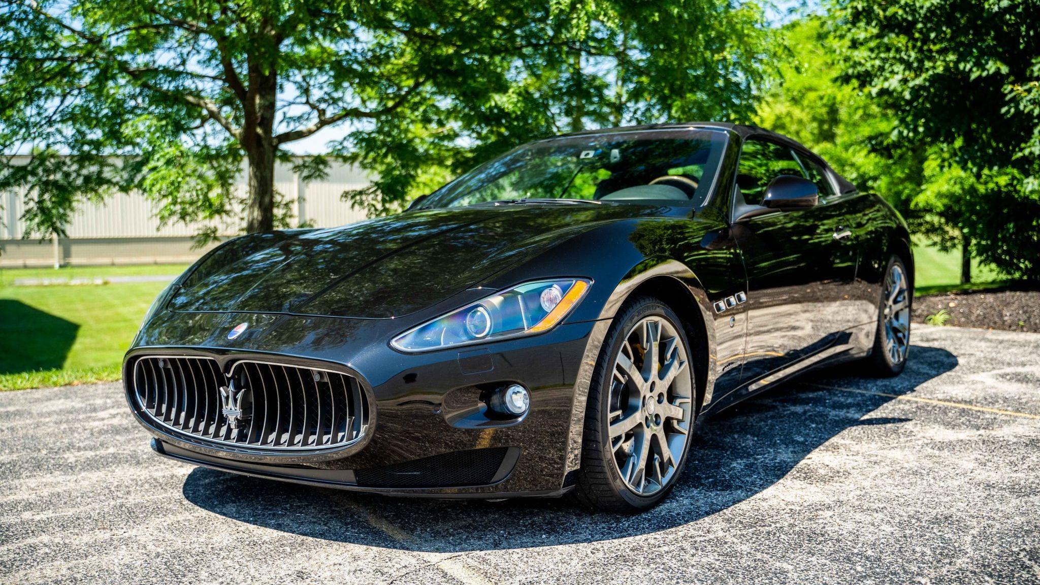 2011 Maserati Granturismo S Convertible VIN ...