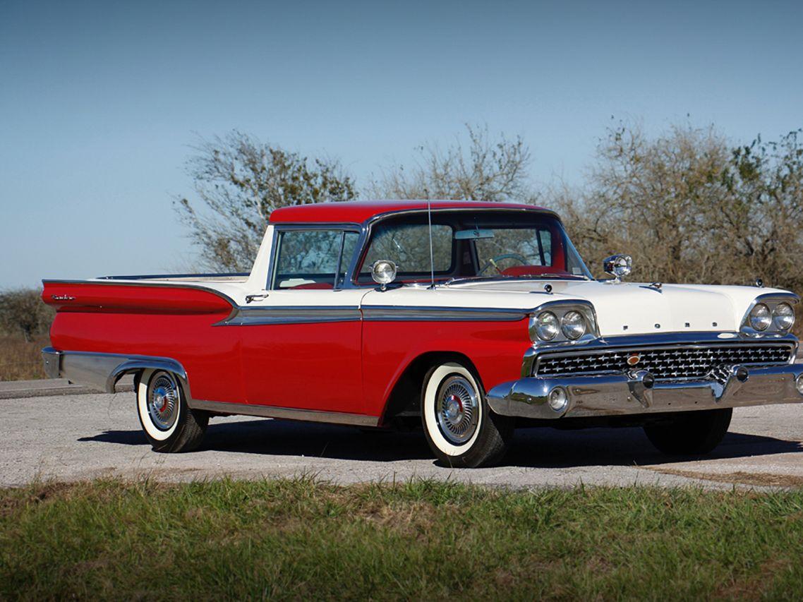 1959 Ford Custom Ranchero Pickup