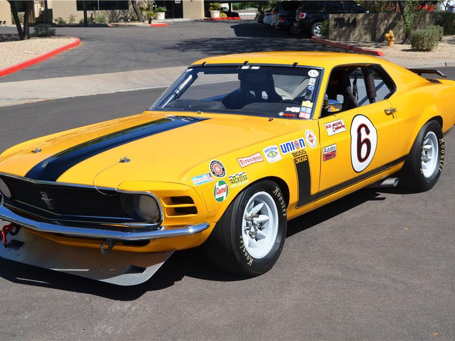 1970 Ford Mustang Boss 302 Fastback A/S Race Car