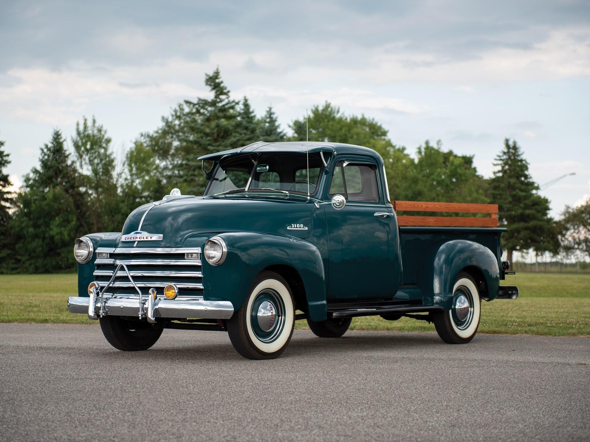 1953 Chevrolet 3100 Five-Window Pickup