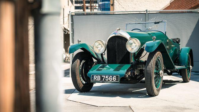 1925 Bentley 3-Liter Speed Model Tourer
