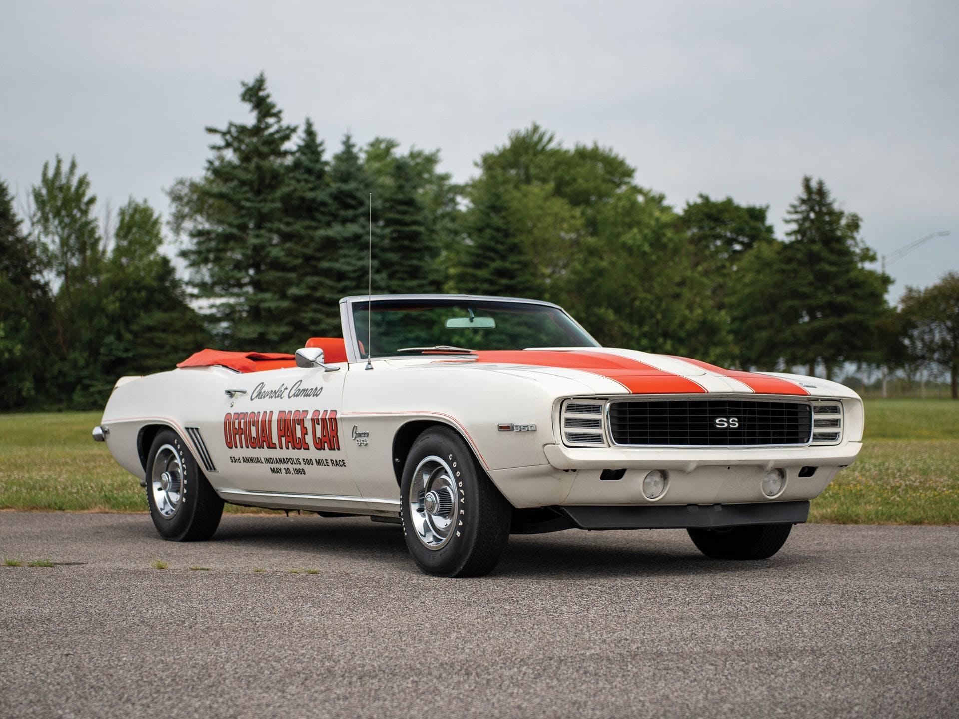 1969 Chevrolet Camaro Indy 500 Pace Car Replica