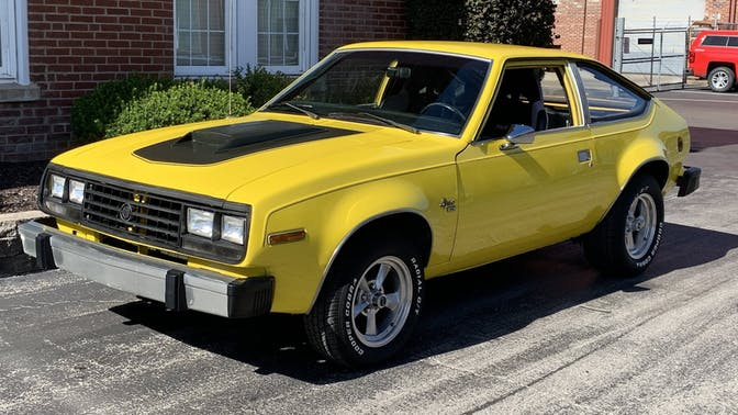 1983 Amc Spirit Hatchback
