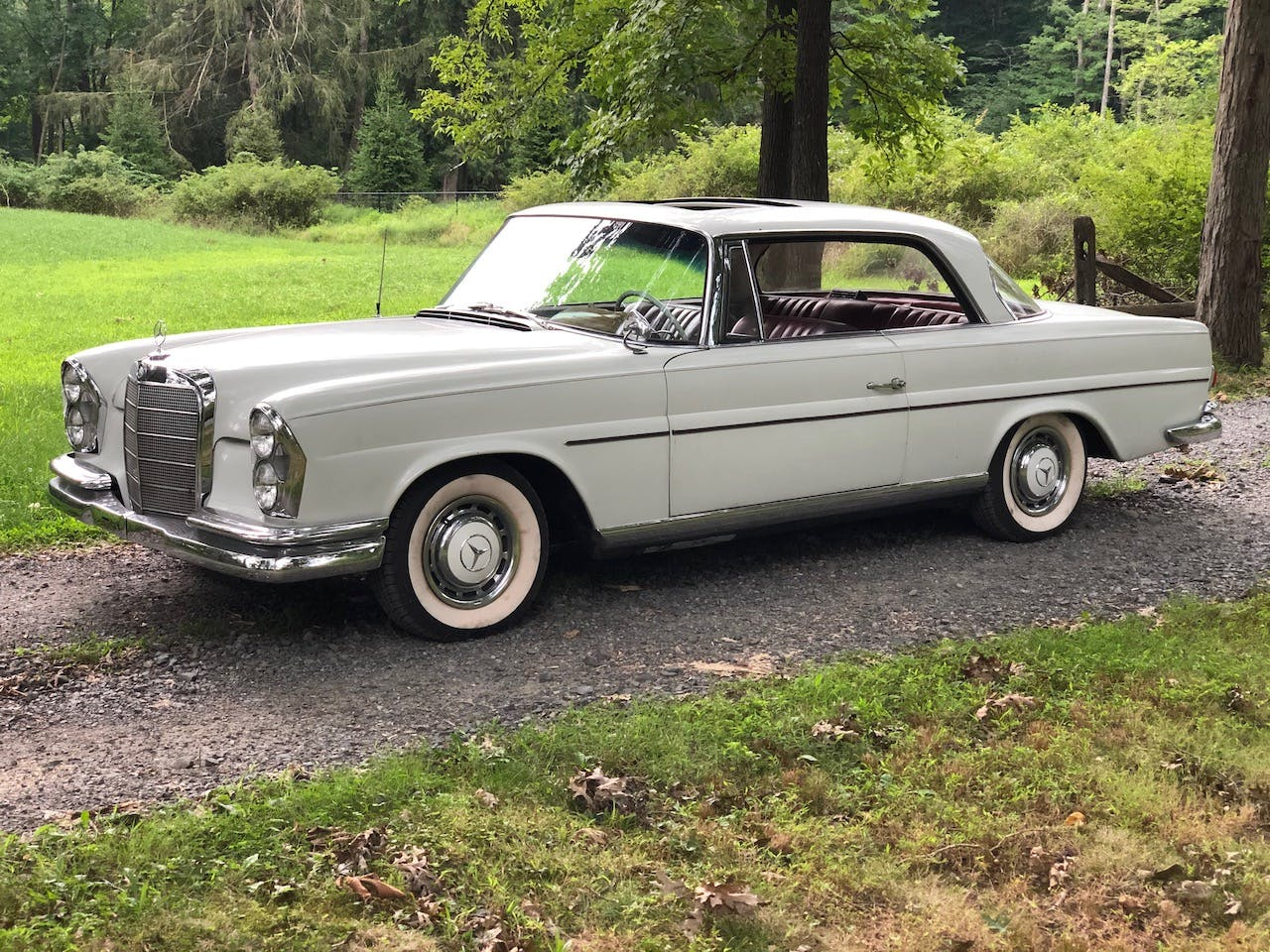 1962 Mercedes-Benz 220SE Coupe