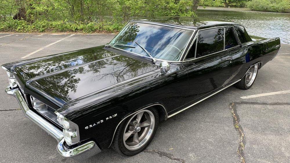 1963 Pontiac Grand Prix Vin 963k43515 Classic Com