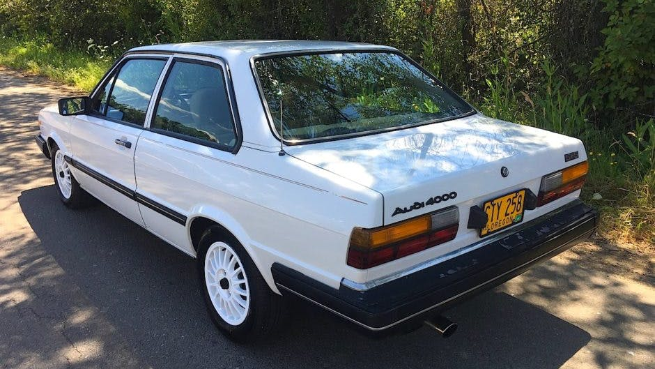 1981 Audi 4000 5+5 VIN: WAUBB0817BE053734 - CLASSIC.COM