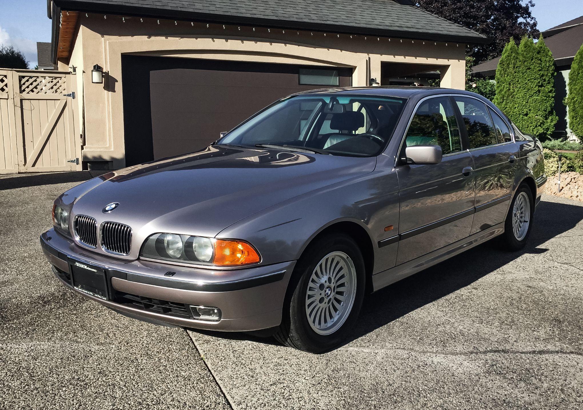 1997 Bmw 540i Aspen Silver Vin Wbade6329vbw56158 Classic Com