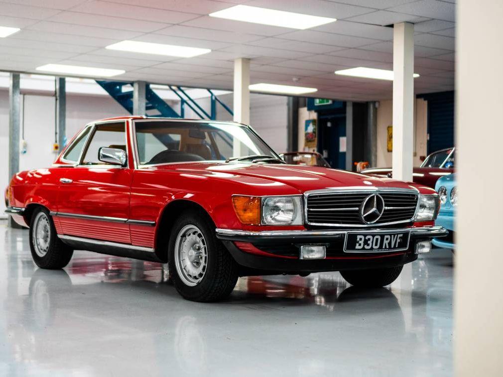 1984 Mercedes-Benz 280SL R107