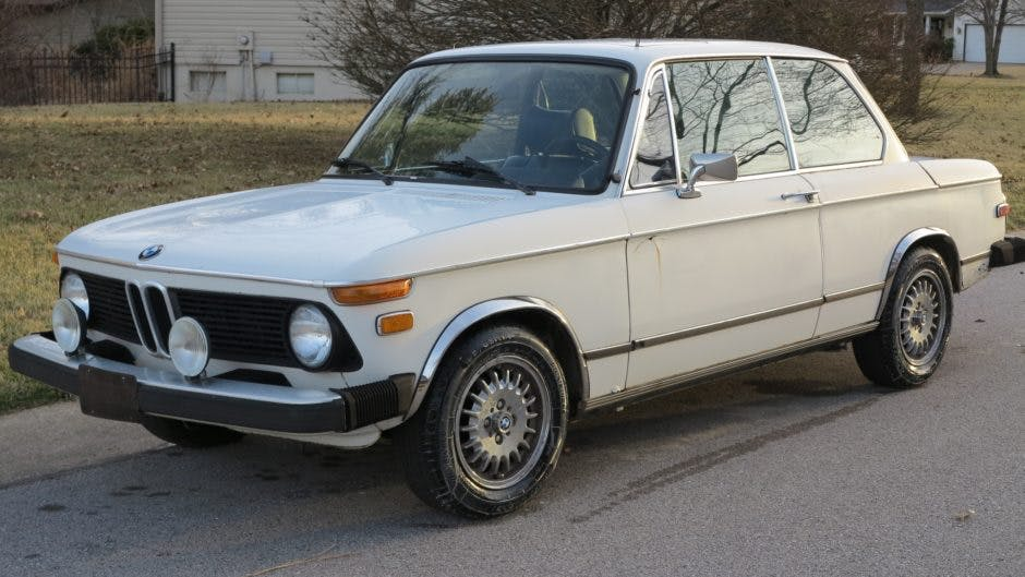 1976 BMW 2002 Project
