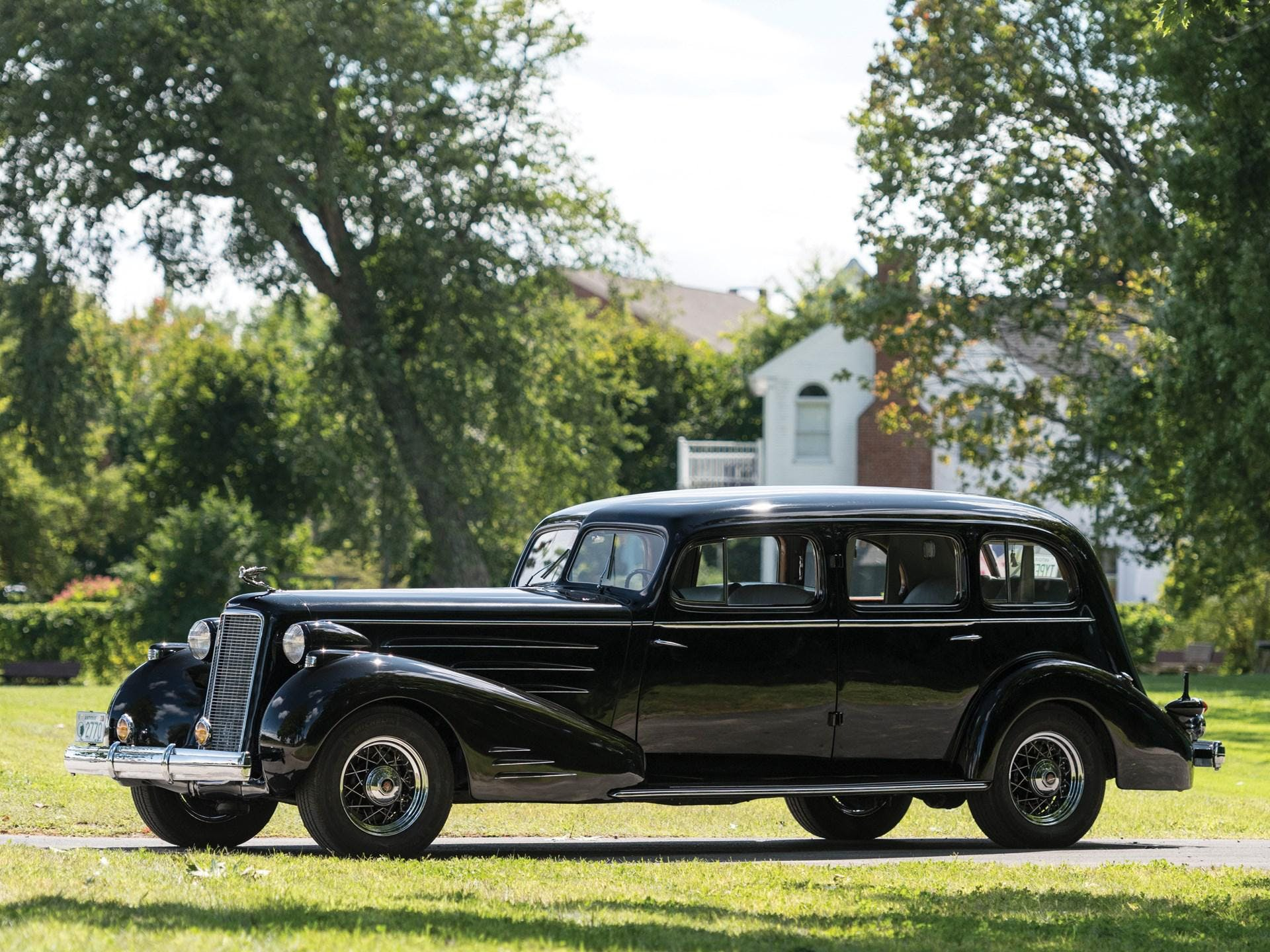 1937 Cadillac V-16 Seven-Passenger Limousine by Fleetwood