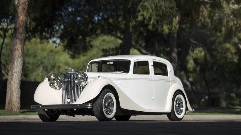 1939 Jaguar Mark Iv Saloon Street Rod