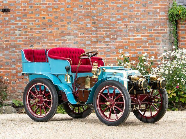 1901 Panhard-Levassor 7HP Twin-Cylinder Four-Seater Rear-Entrance Tonneau