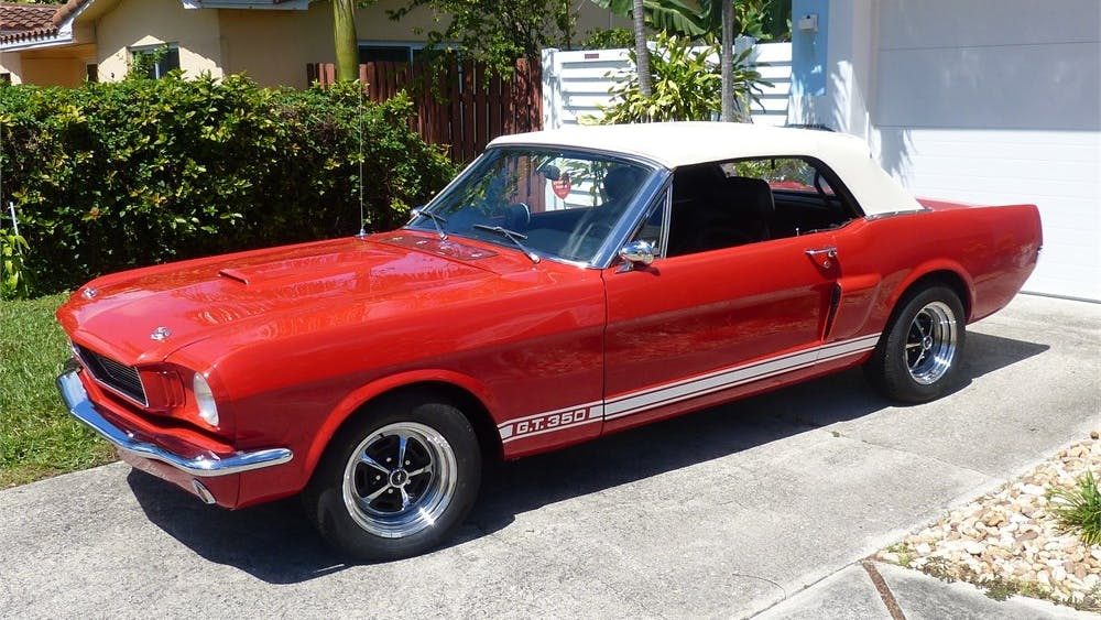 1966 Ford Mustang Convertible 5-Speed