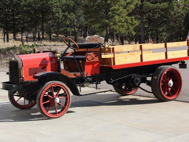1915 White 5 Ton Stake Bed Truck