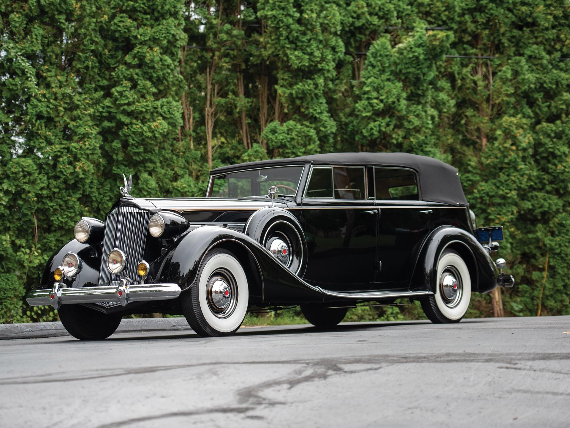 1937 Packard Super Eight Convertible Sedan