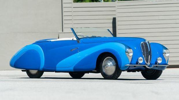 1948 Delahaye 135MS Cabriolet