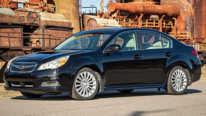 2010 Subaru Legacy 2.5gt Premium