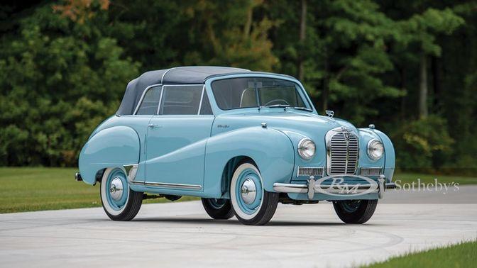 1953 Austin Somerset Drop Head Coupe