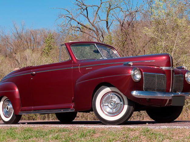 1941 Mercury Eight Club Convertible