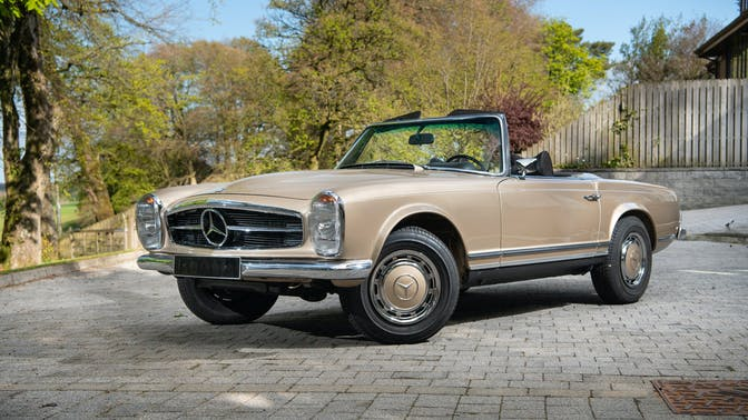 1970 Mercedes-Benz Pagoda 280SL With Hardtop