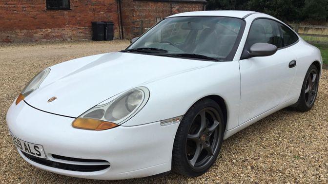 1997 Porsche 911 (996) Carrera 2 Coupe Manual