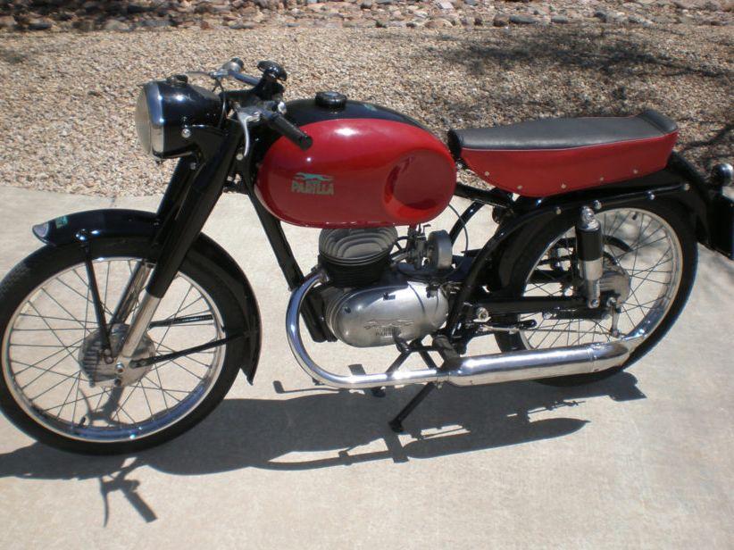 1956 Parilla 125 Sport