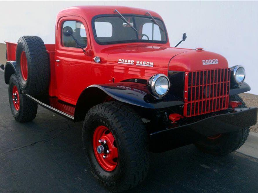 1947 Dodge Power Wagon Custom Pickup