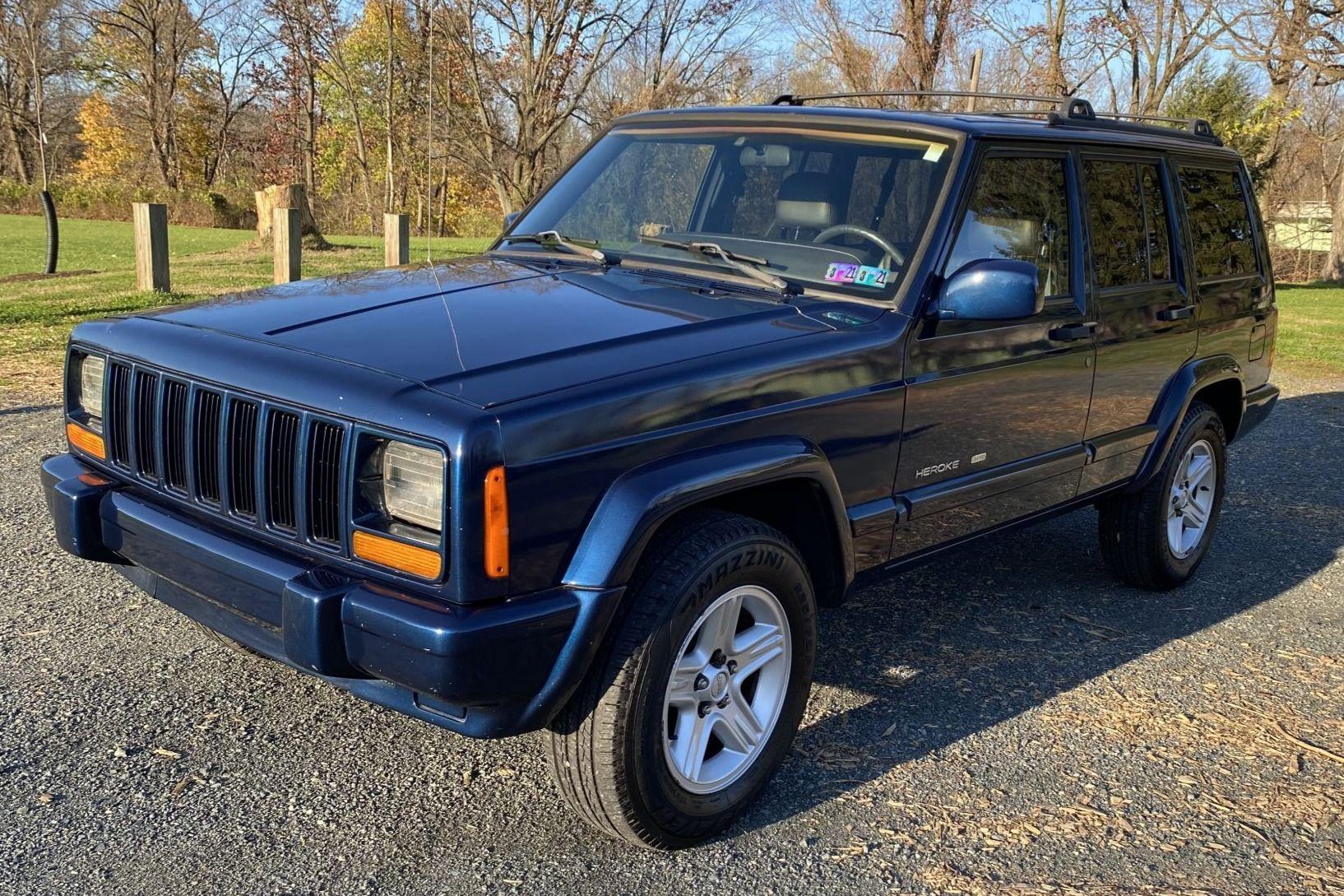 2001 Jeep Cherokee Classic Vin 1j4ff58s11l552595 Classic Com