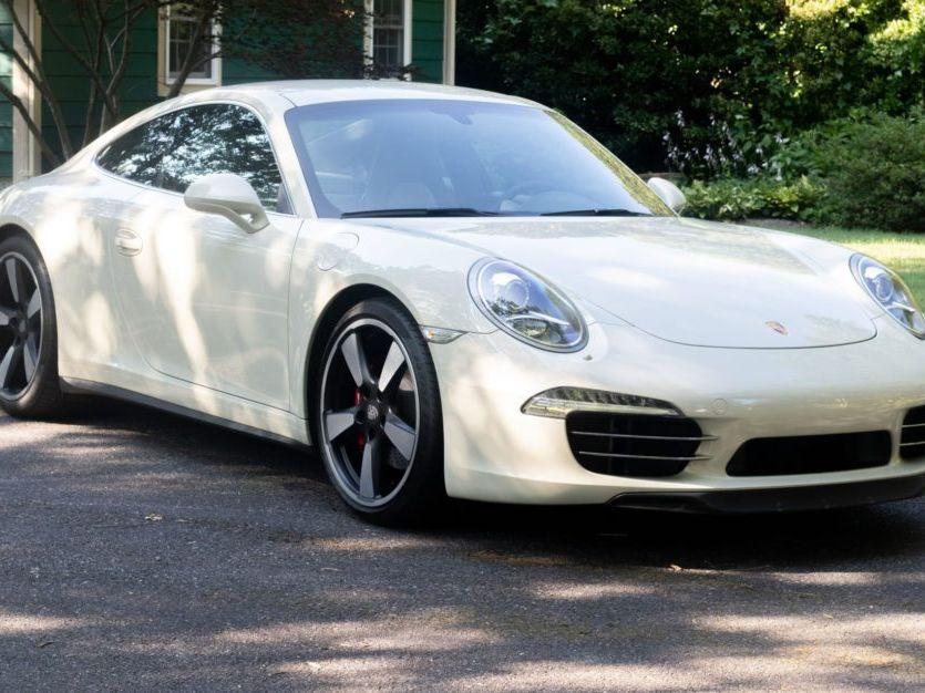 2014 Porsche 911 50TH Anniversary Edition 7-Speed
