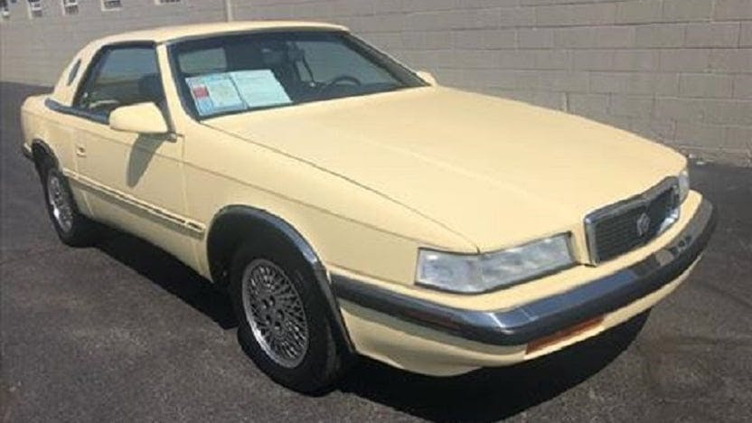 1991 Chrysler Maserati TC
