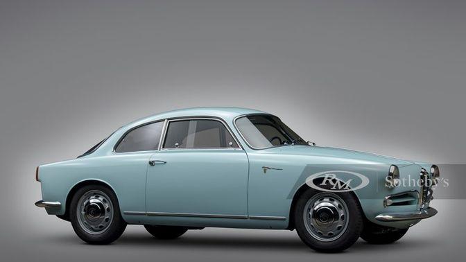 1957 Alfa Romeo Giulietta Sprint Veloce Alleggerita by Bertone
