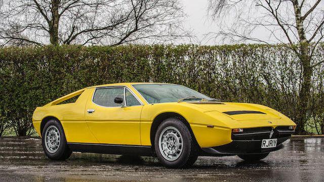 1982 Maserati Merak SS Coupé VIN: AM122A 655 - CLASSIC.COM